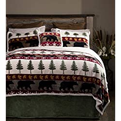 Carstens Tall Pine 5 Piece Bedding Set, Queen