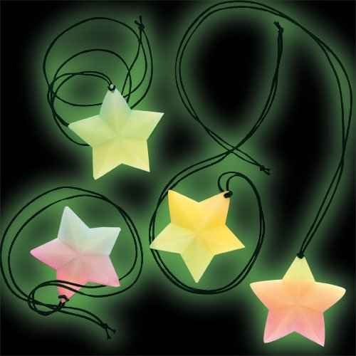 Glow-in-the-Dark Star for Children to Play with and Wear at a Halloween Fancy Dress Party by Baker Ross -