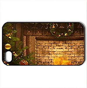 Magic NigCase For Iphone 5/5S Cover (Houses Series, Watercolor style, Black)