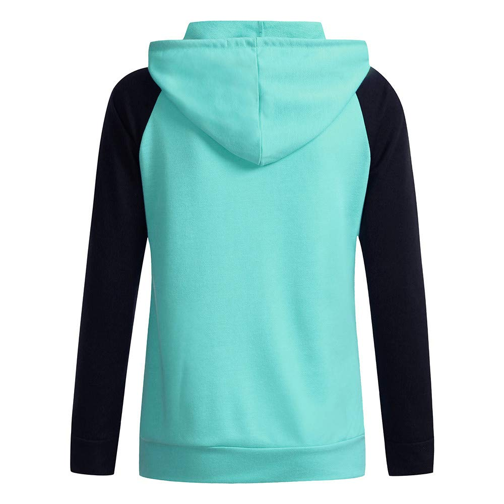 Koolee/_Tops 2019 Couples Hoodies Valentines Day Vacation Long Sleeve Sweatshirts Tops Blouses Shirt with Pocket