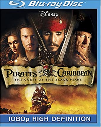 Pirates Of The Caribbean Curse Of The Black Pearl Blu Ray 2003 Us Import Amazon Co Uk Dvd Blu Ray