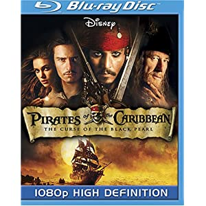 Pirates of the Caribbean: The Curse of the Black Pearl [Blu-ray] (2003)