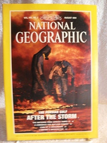 National Geographic:  August 1991 - Vol. 180, No. 2