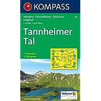 Kompass Verlag - WK 04 Tannheimer Tal