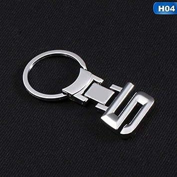 Llaveros 3D de aleación de zinc, llavero, emblema de coche ...