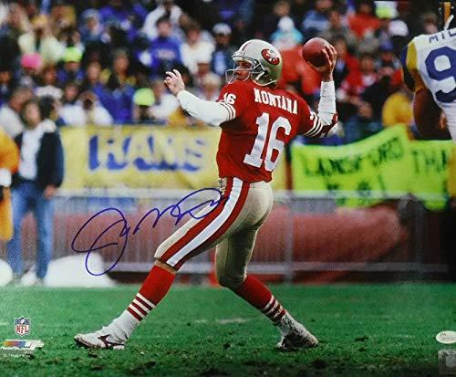 Joe Montana Autographed Signed San Francisco 49ers 16x20 Photo vs Rams - JSA Certified