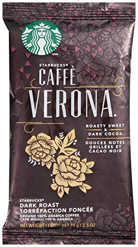 Starbucks Verona Pillow Pack, 72 Individually Wrapped Packs of 2.5 oz. (360 total oz.) ()