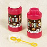 Hippie Chick Bubble Bottle Party Accessory