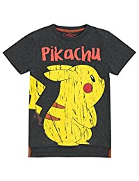 Pokemon Boys' Pikachu T-Shirt