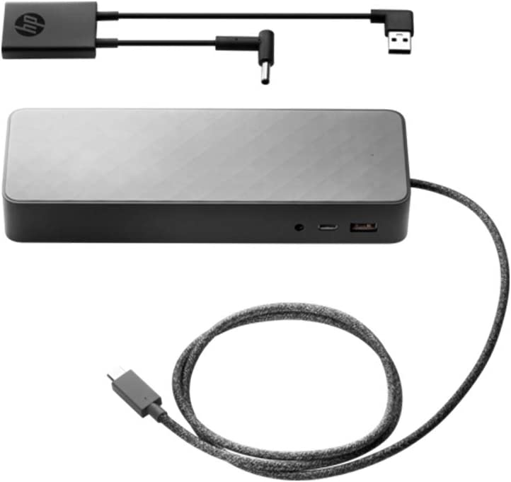 HP USB-C Universal Dock w/4.5mm Adapter