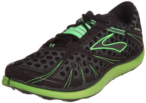 Brooks Mens PureGrit Running Shoes Color: BriteGrn/Anthracite/Blk/Slvr Size: 11.0