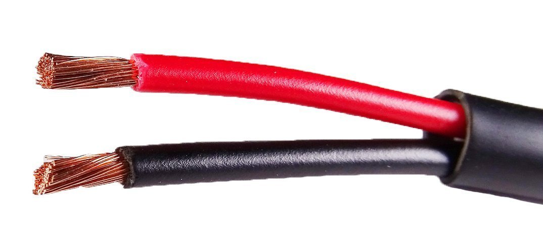 RiteAV - 14 AWG 150-Feet Direct Burial Speaker and Lighting Wire (2 Channel, Pure Oxygen Free Copper, High Strand Count)