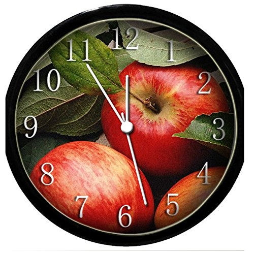 Glow In the Dark Wall Clock - Apple #3