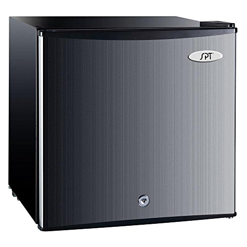 SPT 1.1 Cu. Ft. Upright Freezer Stainless Steel UF-114SS