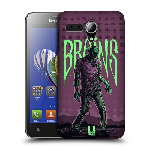 Head Case Designs Pose Zombies Protective Snap-on Hard Back Case Cover for Lenovo A606