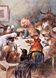 Animal Banquet - Greeting Card (6 Cards Individually Bagged W/ Envelopes and Header), , 1595835520
