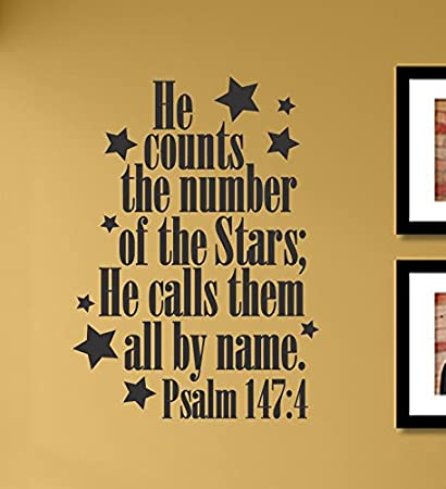 Amazon.com: He counts the number of the stars; He calls them all by ...