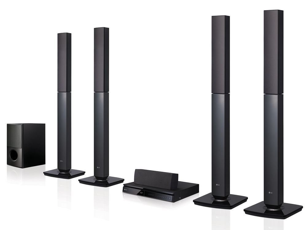 LG LHD657 Bluetooth Multi Region Free 5.1-Channel Home Theater Speaker System w/ Free HDMI Cable, 110-240 Volt by LG