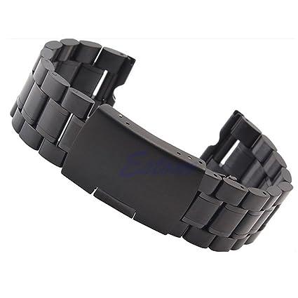 Kofun correa de reloj de acero inoxidable de repuesto para Motorola Moto 360 reloj inteligente con