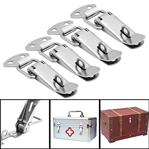 Spring Loaded Cabinet and Drawer Latch  pack of 4 Free Shipping