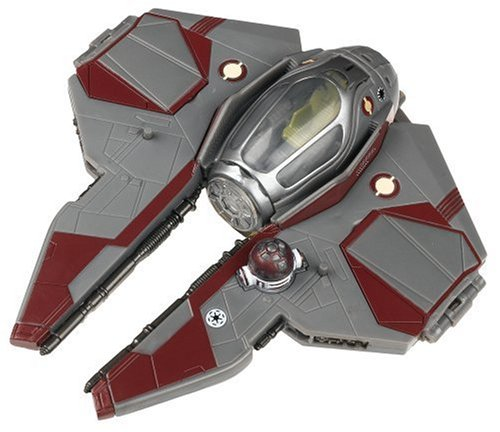 (Hasbro Star Wars Transformers - OBI-Wan and Jedi Starfighter)