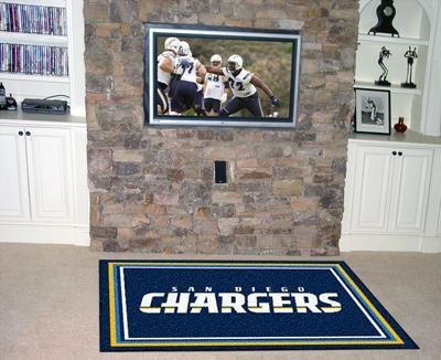 NFL - San Diego Chargers 4 x 6 Rug