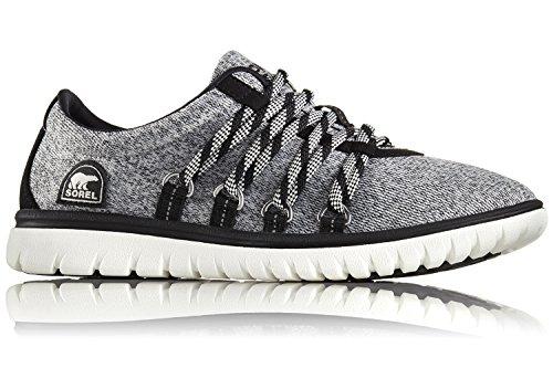 Sorel Damen Fashion Sneaker NL2328-010 TIVOLI GO Black Schwarz Grau Black/Noir