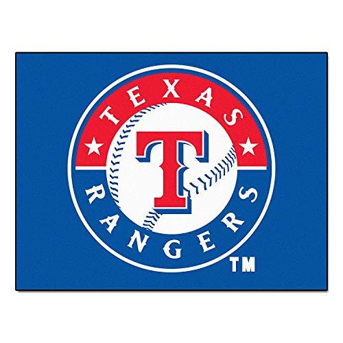 Starter Floor Mat - Texas Rangers