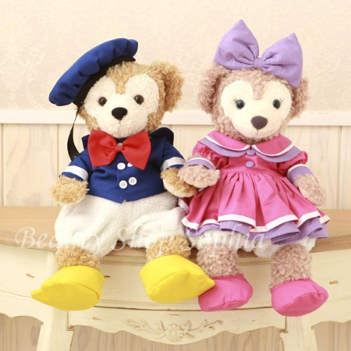 Donald And Daisy Costumes (Duffy Sherry Mae Costume Set Donald Duck and Daisy Duck [original handmade costume])