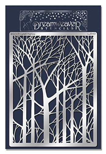 Stampendous Dreamweaver Metal Stencil Trees product image