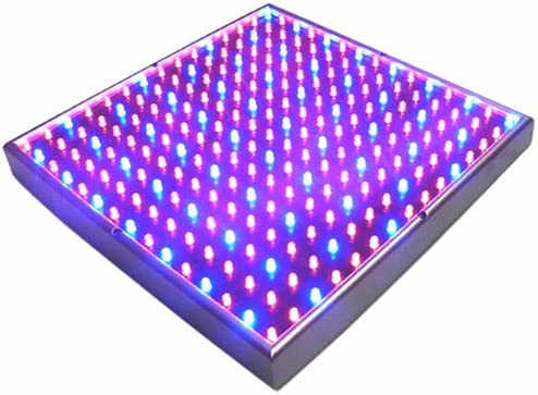 Yescom 225 Blue Red LEDs Grow Light Ultrathin Panel Indoor Hydroponics Plant Veg Flower Lamp for Growing Room Tent