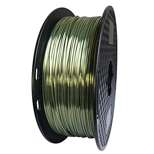 Silk Silver Pla 1.75mm 3d Printer Filament 1kg 2.2lbs Printing Materials Silky