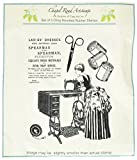 Class Act Chapel Road Cling Mounted Rubber Stamp Set, 5.75 by 7.75-Inch, Sew Much to Do