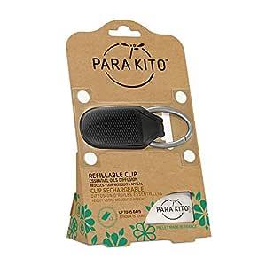 PARA'KITO® Refillable Mosquito Clip (Black)
