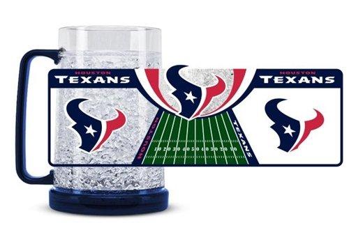 NFL 16 Oz. Beer Glass NFL Team: Houston - Texans Oz Crystal 16 Houston