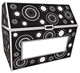 * BLACK & WHITE CRAZY CIRCLES CHEST