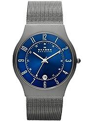 Skagen Mens 233XLTTN Grenen Grey Titanium Mesh Watch