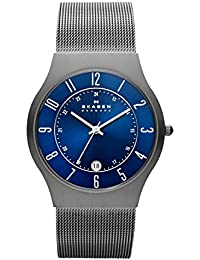 Men's 233XLTTN Grenen Grey Titanium Mesh Watch