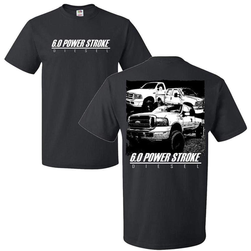 Aggressive Thread 6.0 Power Stroke Trucks Powerstroke T-Shirt