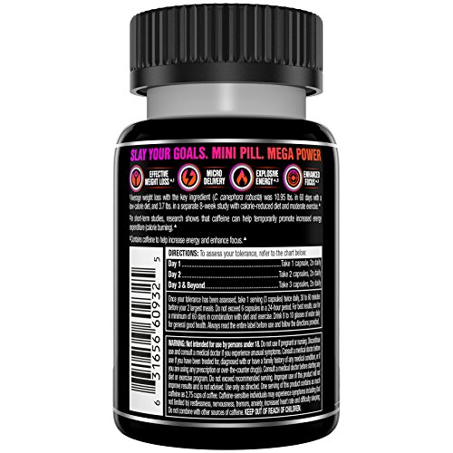 Hydroxycut Slay Weight Loss & Diet Supplement - Effective Weight Loss with Explosive Energy & Focus – 20 Servings (60 Pills) by Hydroxycut (Image #1)