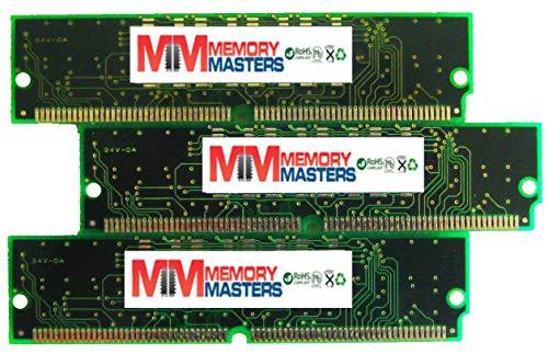 96MB 3 X 32MB 72 pin SIMM Sampler Memory for Korg Triton Studio, Triton Extreme, Triton Rack - 96 Mb Memory