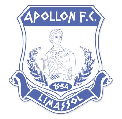 Apollon fc limassol cyprus football soccer futbol car sticker 4