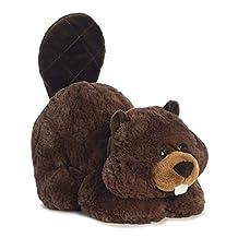 "Chomper Beaver Tushies 11"" Stuffed Animal"