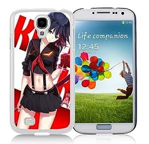 Unique Samsung Galaxy S4 I9500 Case ,Popular And Durable Designed With Kill la Kill White Samsung Galaxy S4 I9500 Cover