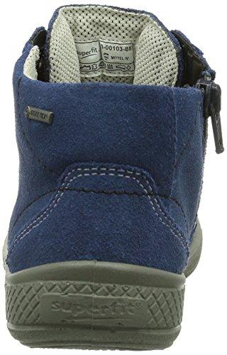 Superfit 300103 TENSY Jungen Hohe Sneakers Blau (WATER KOMBI 88)