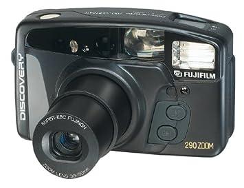 Amazon.com : Fujifilm Discovery 290 38-90mm Zoom Date 35mm Camera ...