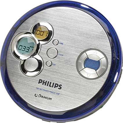 Philips EXP2461 Personal CD/MP3 Player with 100-Second Electronic Skip Protection EXP2461/17