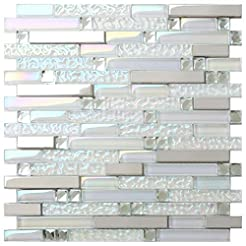 New Design TST Glass Metal Tile Iridesce...