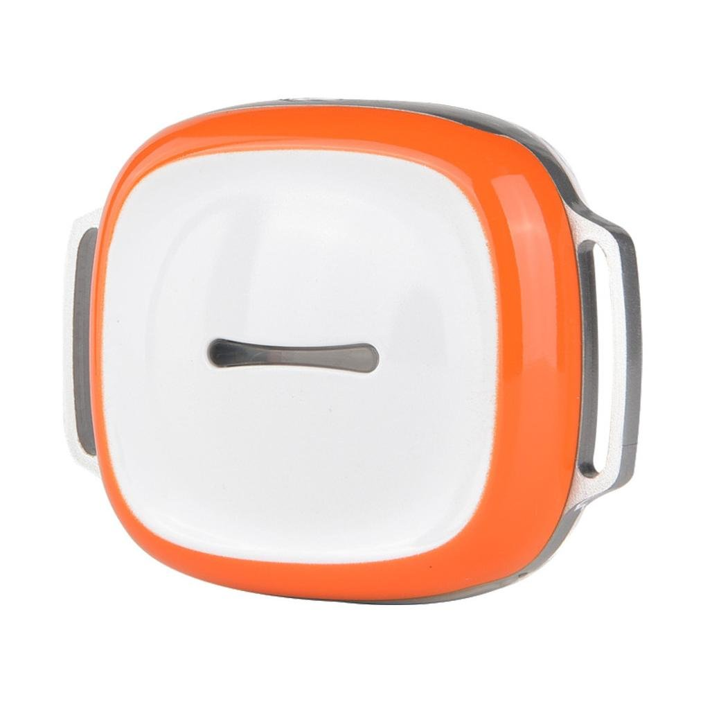 Inkach Fashion GPS Pet Tracker Mini GPS Tracker Locator for Small Pet Dog Cat (Orange)