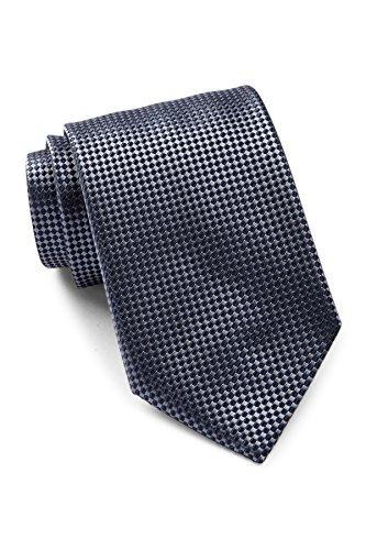 Hugo Boss Men's Patterned Italian Silk Tie, OS, Medium (Hugo Boss Silk)